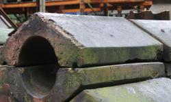 Terracotta roof copings