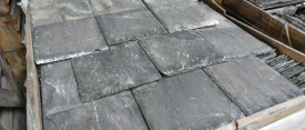 Reclaimed Sized welsh roofing slates