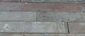 Reclaimed pine boards