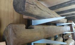 Oak Beams Finished