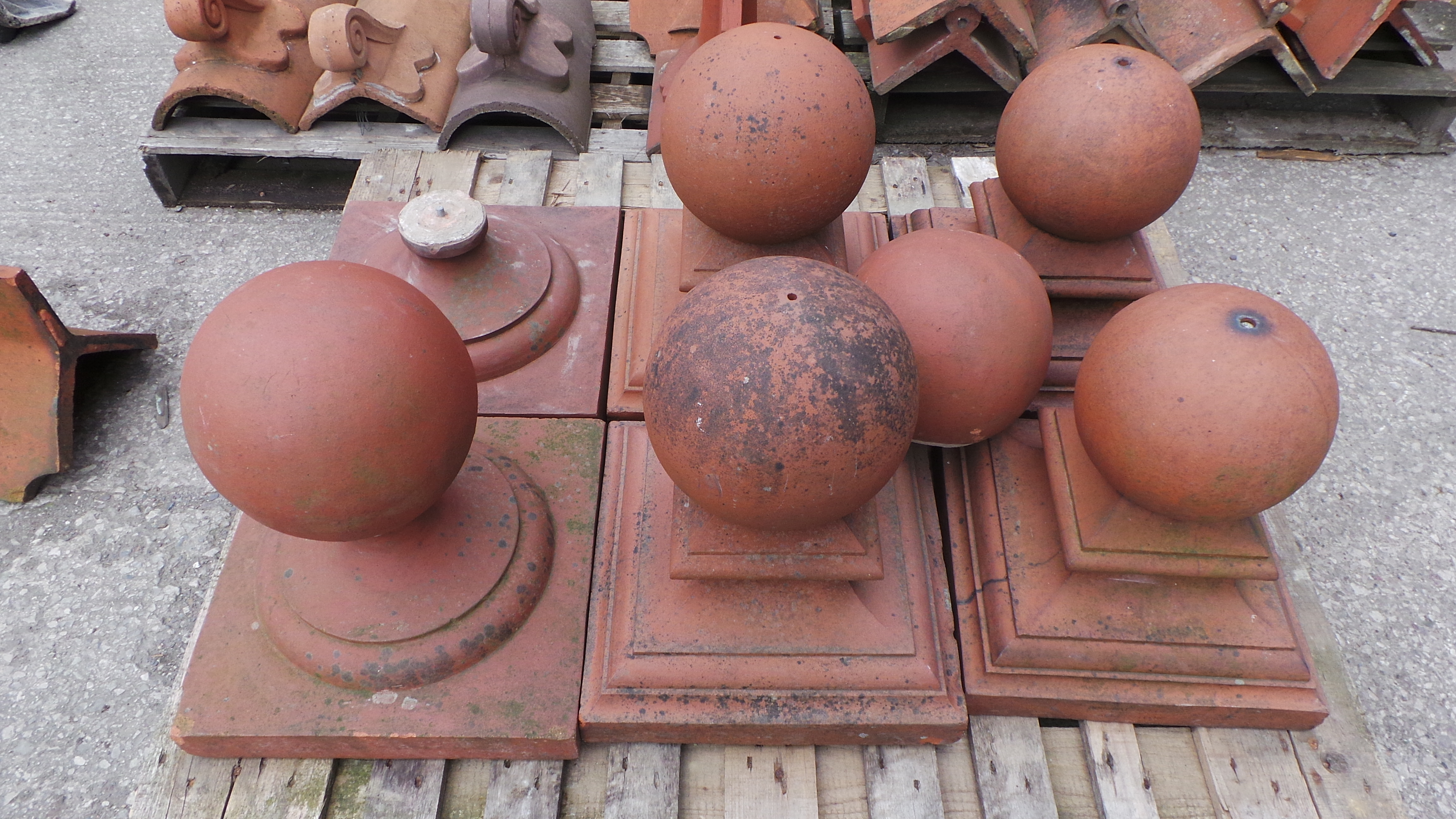 Terracotta Finials Ridge Tiles Martin Edwards