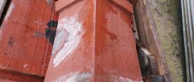 Red Terracotta Ridge tiles