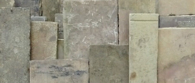 Reclaimed York-stone Paving, mill and street flags